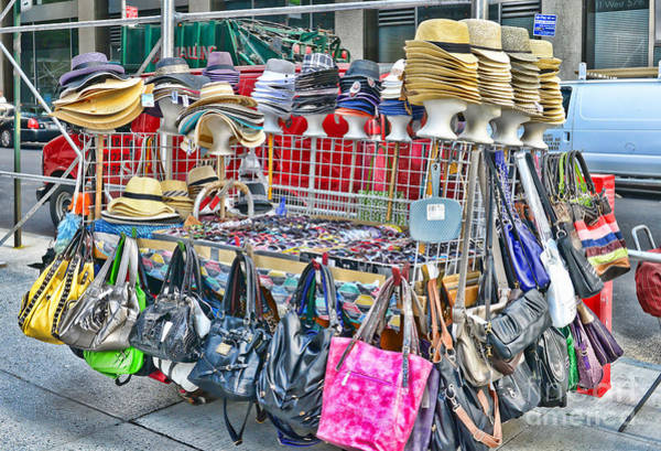 Hats For Sale Photograph - Hats And Handbags by Paul Ward