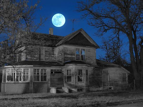 Photograph - Haunted by HW Kateley