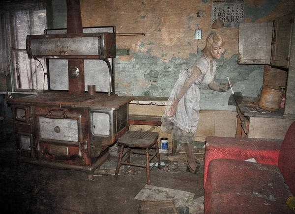 The Maid Photograph - Haunting Maid  by The Artist Project