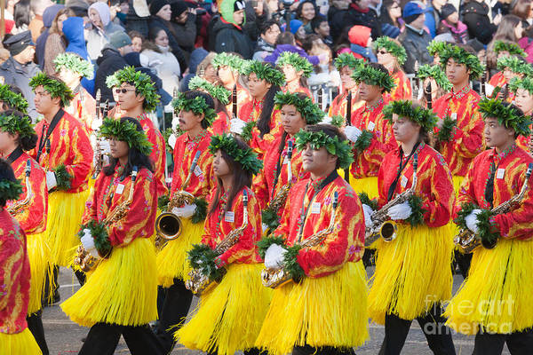 Photograph - Hawaii All-state Marching Band V by Clarence Holmes