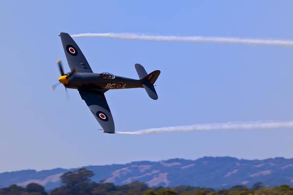Interceptor Photograph - Hawker Sea Fury by Garry Gay