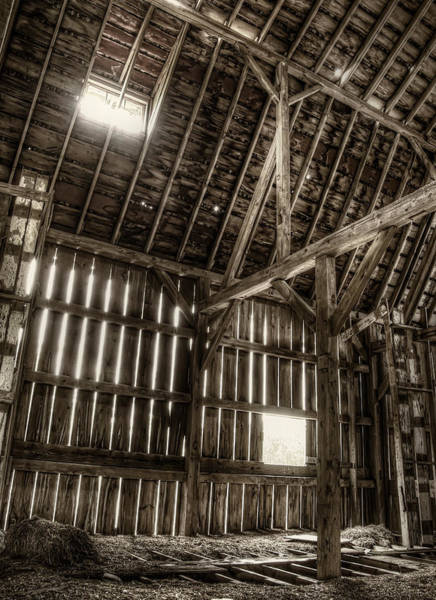 Timbers Photograph - Hay Loft by Scott Norris