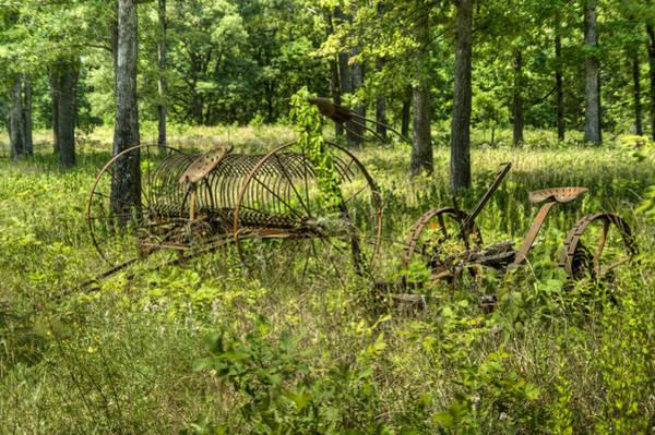Hay Rake Photograph - Hayrake And Cutter 2 by Douglas Barnett