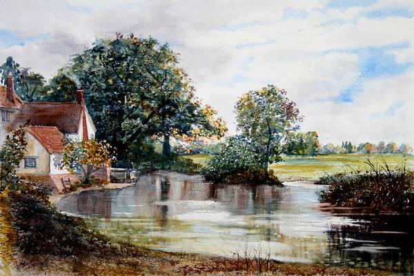 Painting - Haywain Unplugged by Glenn Marshall