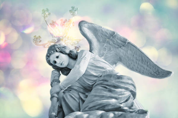 Psalms Photograph - He Will Give His Angels Charge Of You . . . by Bonnie Barry