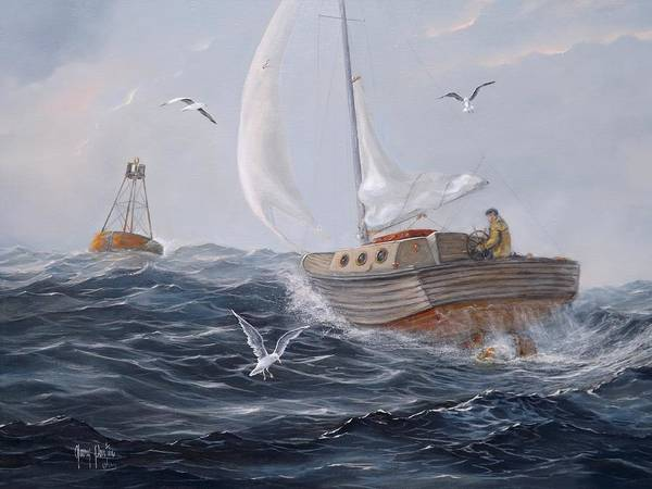 Painting - Headin' In by Gary Partin