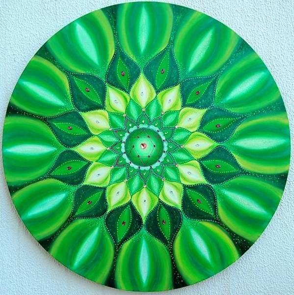 Acrilic Painting - Healing by Carla Marcelo