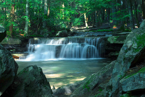 Swallow Falls State Park Wall Art - Photograph - Healing Place by Mike Flynn