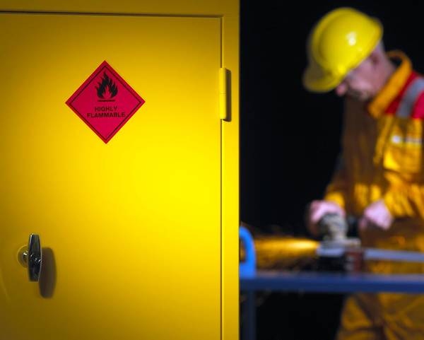 Manual Focus Wall Art - Photograph - Health And Safety At Work Theme by Mark Sykes