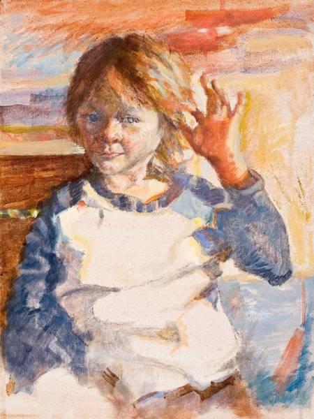 Painting - Hear It? by Ellen Dreibelbis