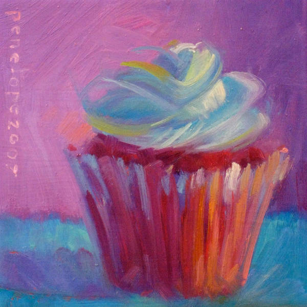 Whipped Cream Painting - Heartbreaker by Penelope Moore