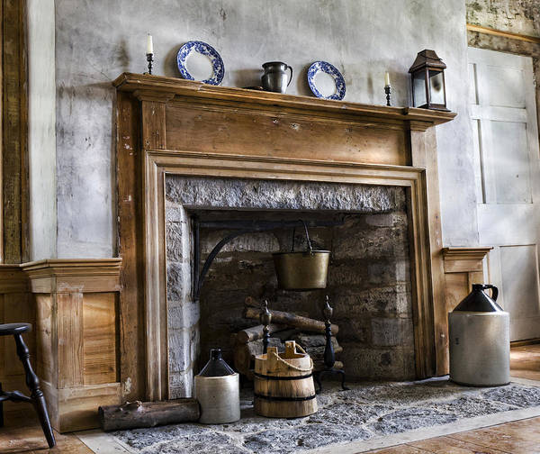 Dwelling Photograph - Hearth Stone by Peter Chilelli
