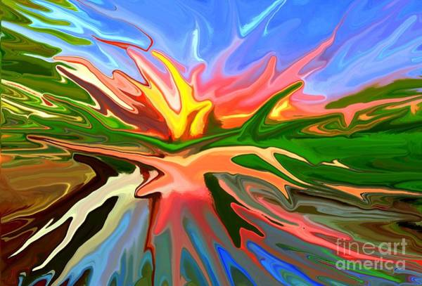 Sunny Mixed Media - Heat Wave by Chris Butler