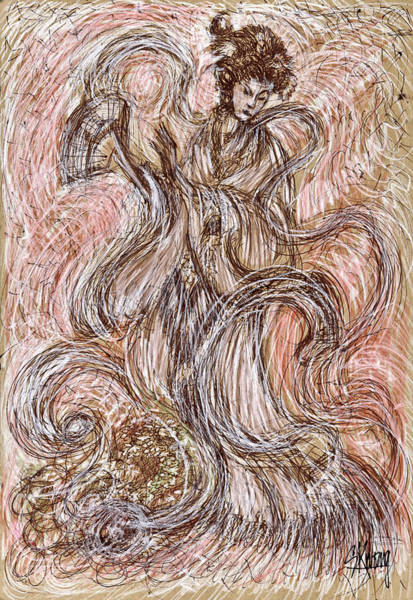 Heavenly Dance Art Print