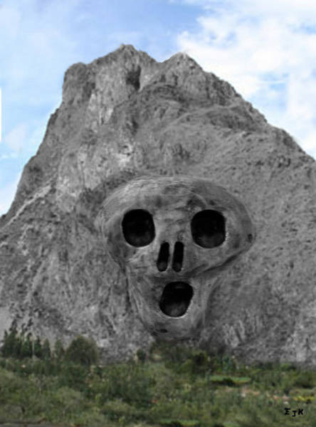 Mixed Media - Heavy Rock Scream by Eric Kempson