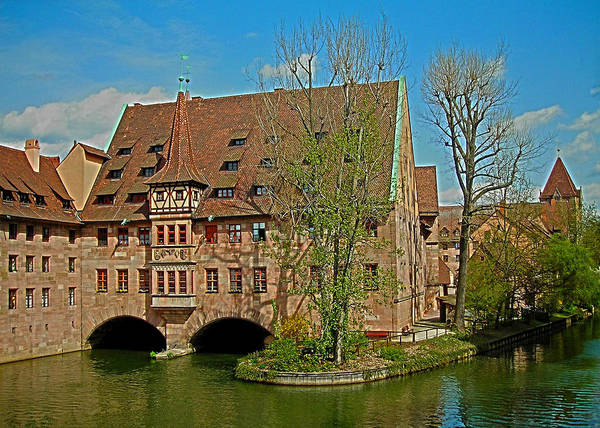 Photograph - Heilig-geist-spital In Nuremberg by Juergen Weiss