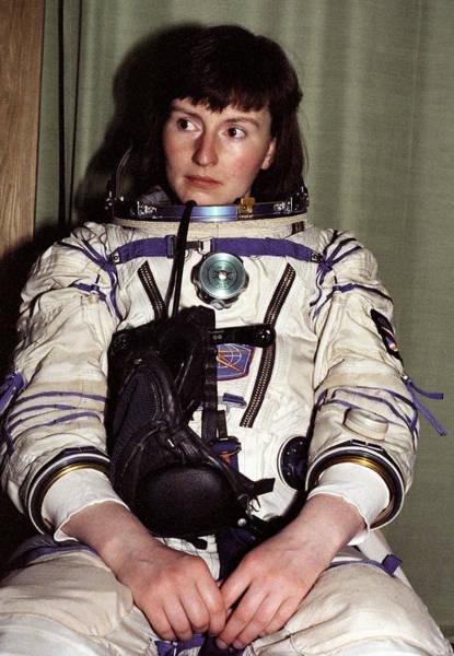 Wall Art - Photograph - Helen Sharman, British Astronaut by Ria Novosti
