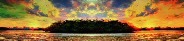 Wall Art - Digital Art - Hell Island by Andrea Barbieri