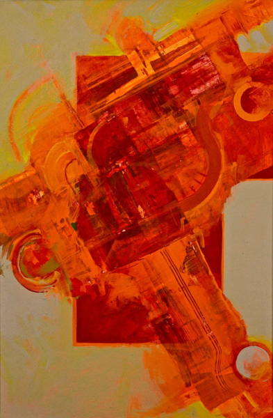 Painting - Hellbow by Cliff Spohn