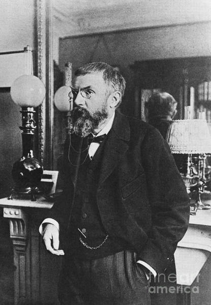 Wall Art - Photograph - Henri Poincare, French Polymath by Science Source