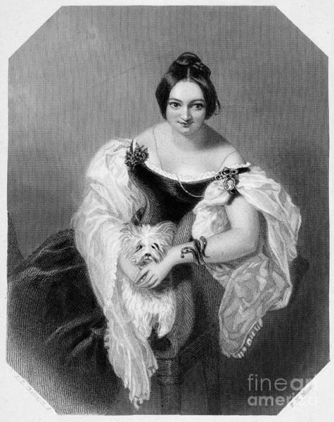 Mistress Photograph - Henrietta Sykes (1792-1846) by Granger