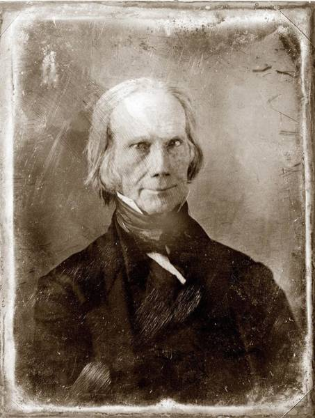 Whig Photograph - Henry Clay 1777-1852, 1851 by Everett