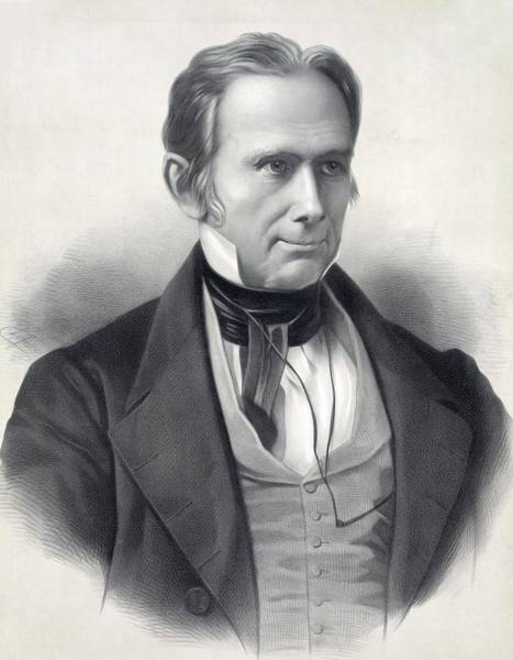 Whig Photograph - Henry Clay 1777-1852. Commemorative by Everett