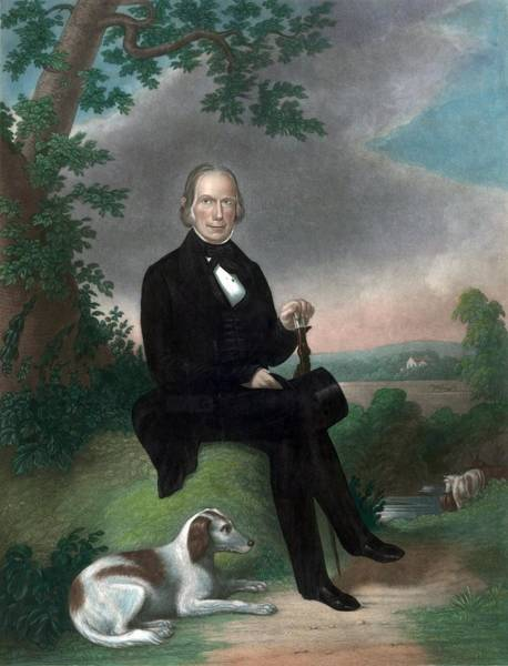 Whig Photograph - Henry Clay 1777-1852 Was Active by Everett
