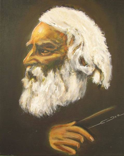 Painting - Henry Wadsworth Longfellow by Eric Dee
