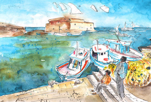 Painting - Heraklion 02 by Miki De Goodaboom