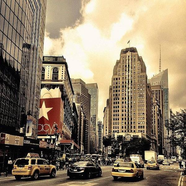 Wall Art - Photograph - Herald Square - New York City by Vivienne Gucwa