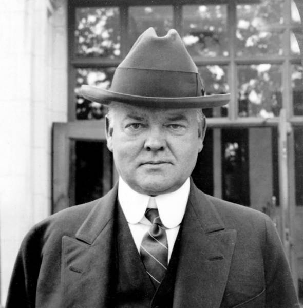 Wall Art - Photograph - Herbert Hoover by International  Images