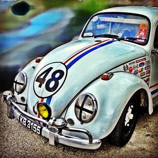 Volkswagen Photograph - Herbie Goes To Chiang Mai 👀 by Richard Randall