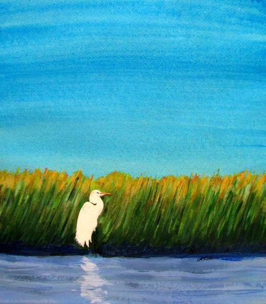 Great Blue Heron Mixed Media - Herbie by Ron LaRue