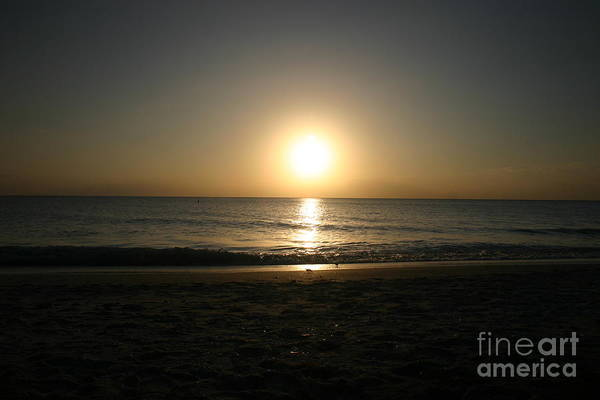 Wall Art - Photograph - Here Goes The Sun by Dennis Curry