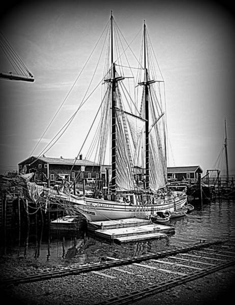 Photograph - Heritage Setting Sails by Doug Mills