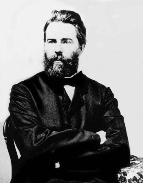 Melville Photograph - Herman Melville, Late 19th Century by Everett