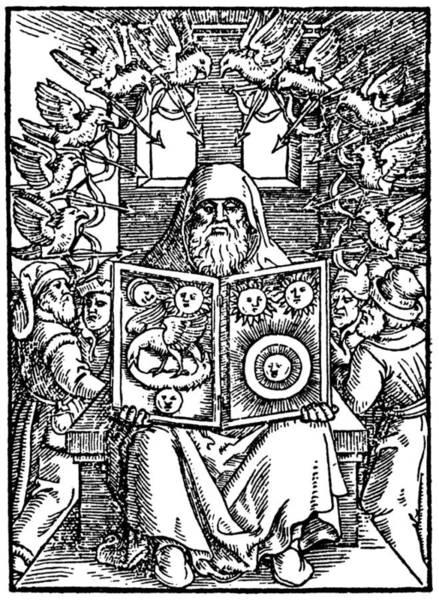 1566 Photograph - Hermes Trismegistus, Classical God by Cordelia Molloy