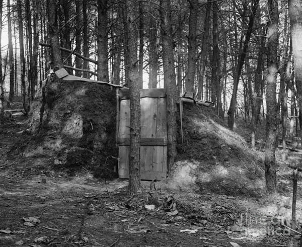 Photograph - Hermits Hut, 1922 by Granger