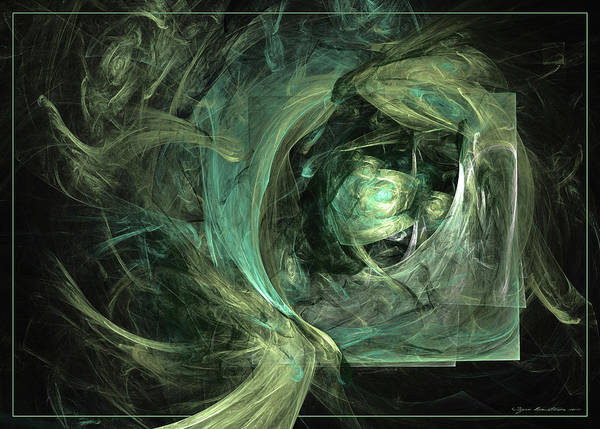 Digital Art - Hidden From Time Immemorial by Sipo Liimatainen