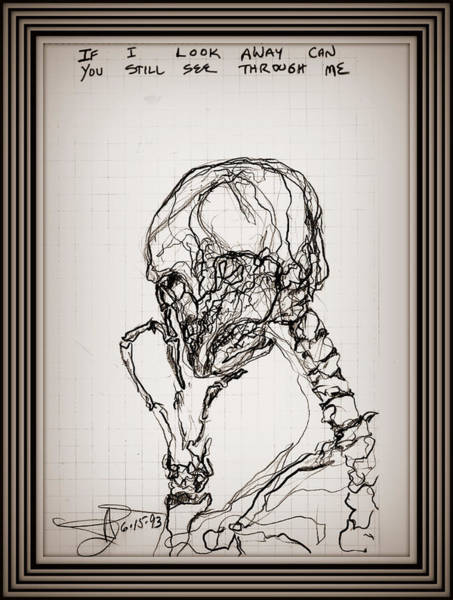 Drawing - Vanity by James Lanigan Thompson MFA