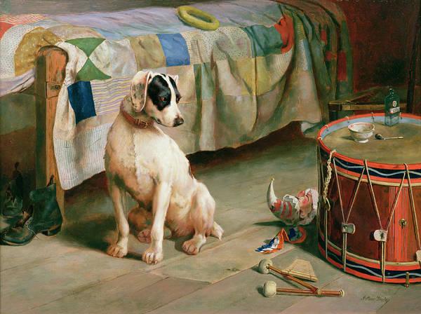 Seek Painting - Hide And Seek by Arthur Charles Dodd