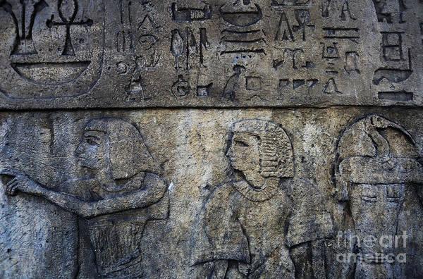 Wall Art - Photograph - Hieroglyphs by Lee Dos Santos