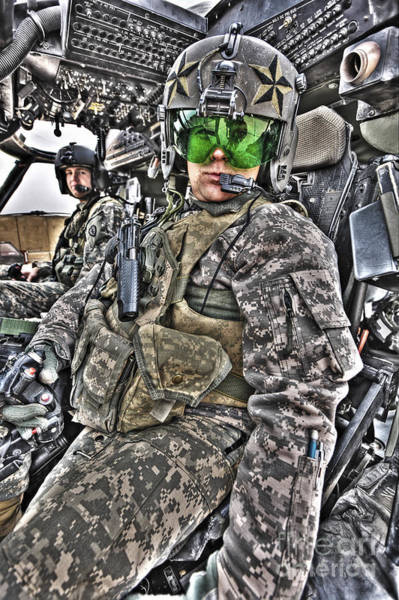 Photograph - High Dynamic Range Image Of Pilots by Terry Moore