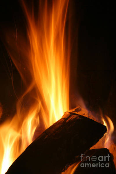 Fuel Element Photograph - High Fire by Francisco Leitao