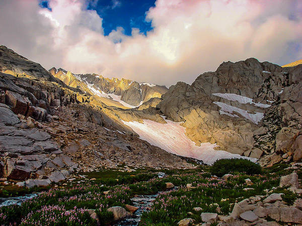 Inyo Mountains Photograph - High Sierra Beauty by Scott McGuire