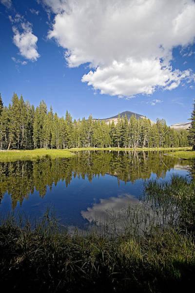 Tioga Photograph - High Sierras Lake by Bonnie Bruno