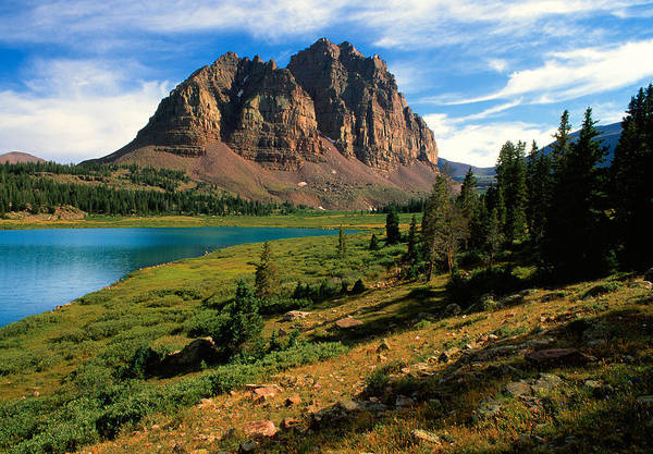 Uinta Photograph - High Uintas Wilderness Area by Douglas Pulsipher