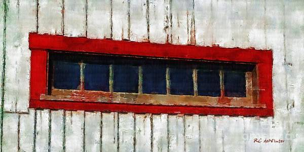 Prince Edward Island Painting - High Window In The Barn by RC DeWinter