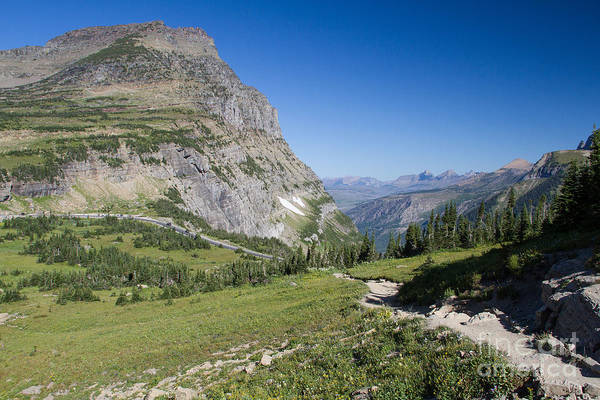 Photograph - Highline Trail 1 by Katie LaSalle-Lowery